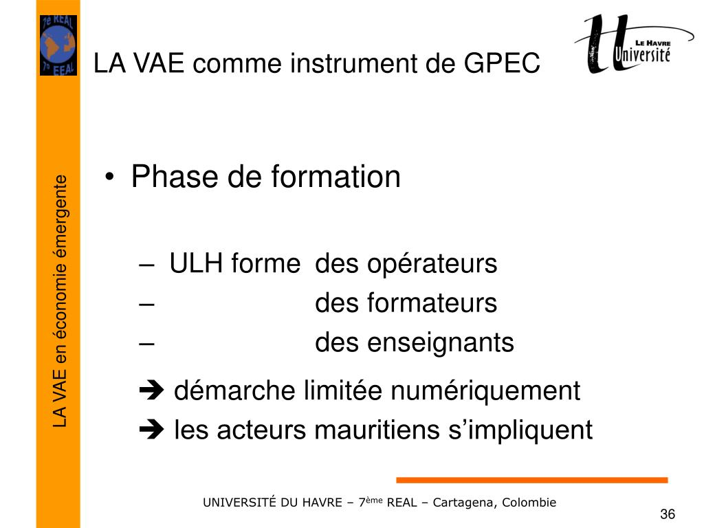 Phase de formation