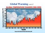 global warming cont d32