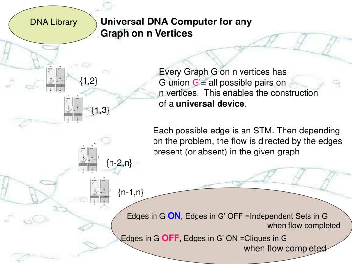 Universal DNA Computer for any