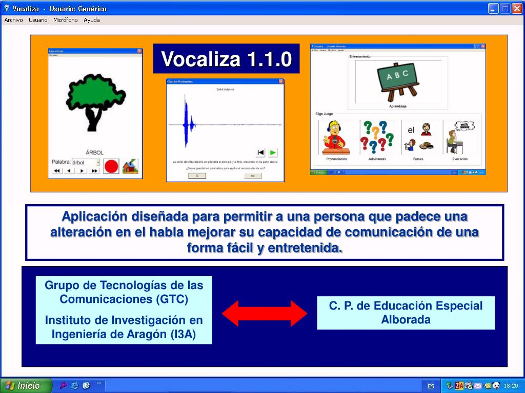 Vocaliza 1.1.0