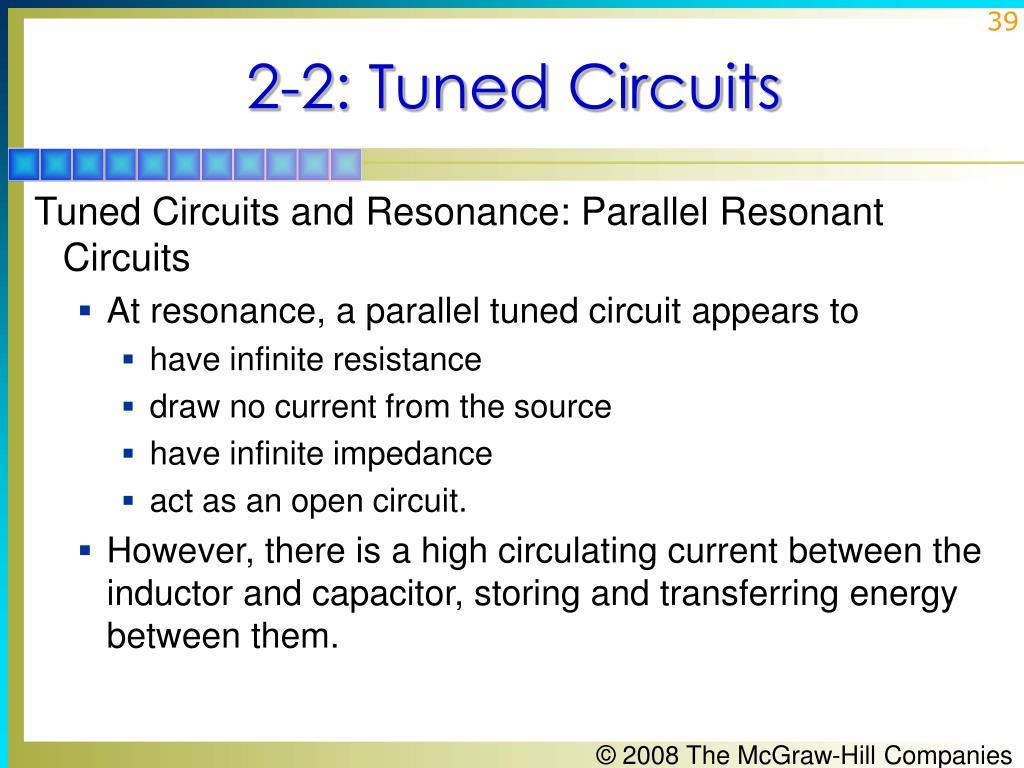 2-2: Tuned Circuits
