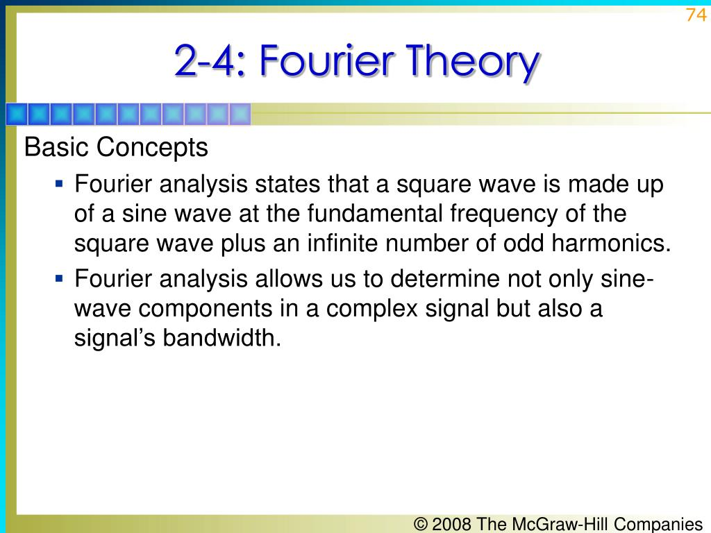 2-4: Fourier Theory