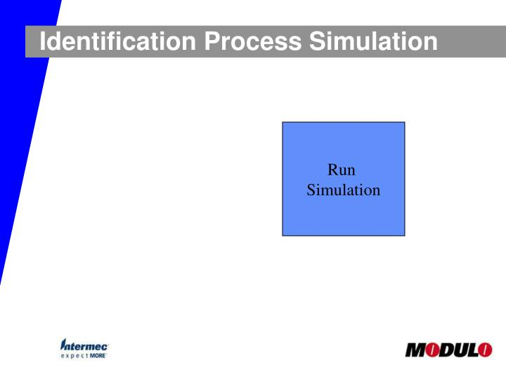 Identification Process Simulation
