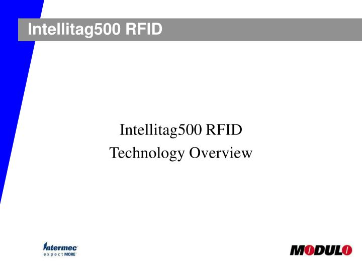 Intellitag500 rfid