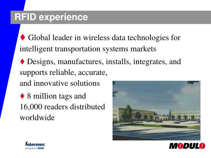 RFID experience