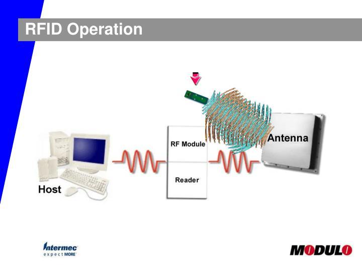 RFID Operation