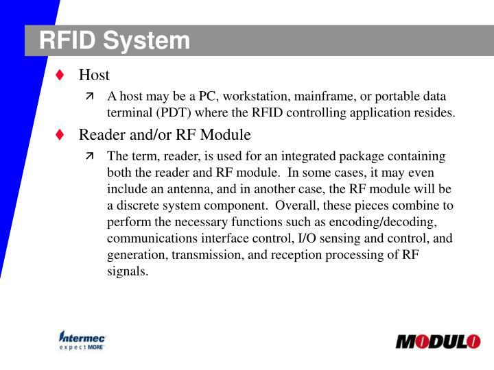 RFID System