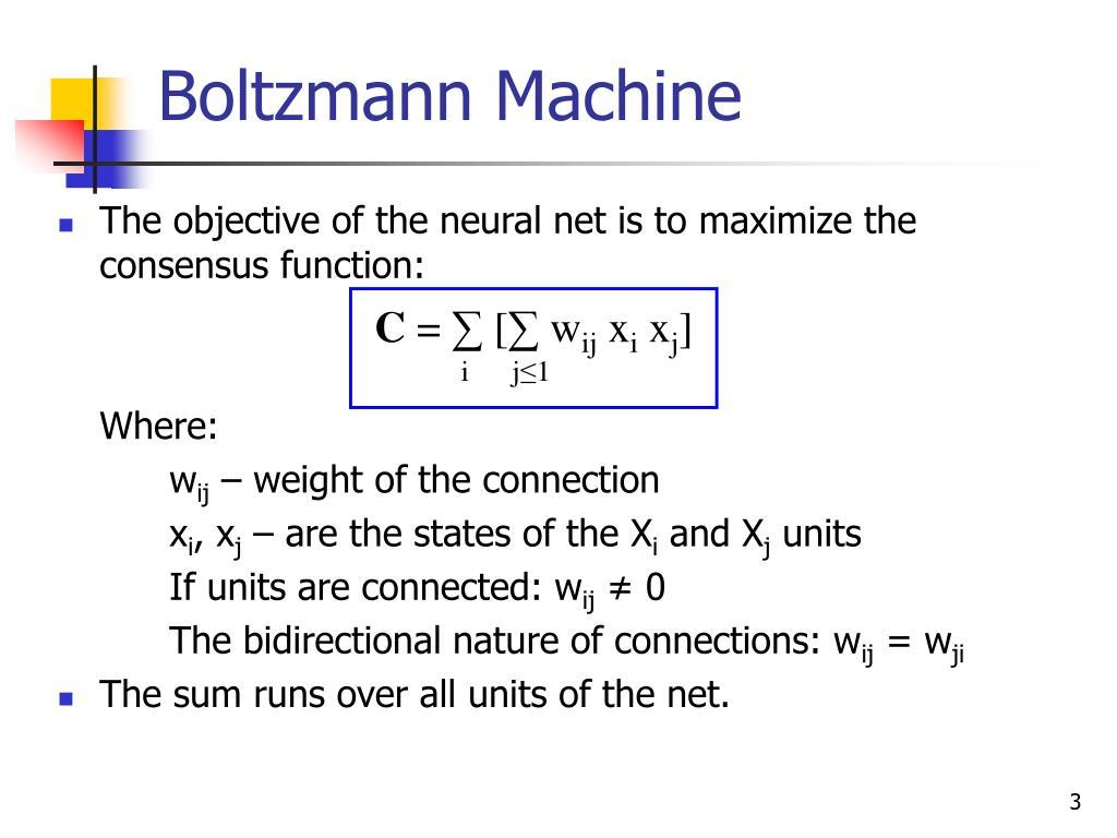 Boltzmann Machine