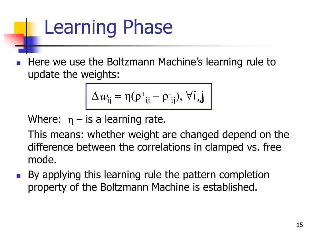 Learning Phase