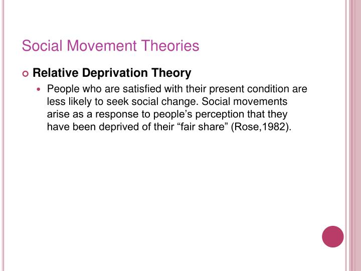 Social Movement Theories
