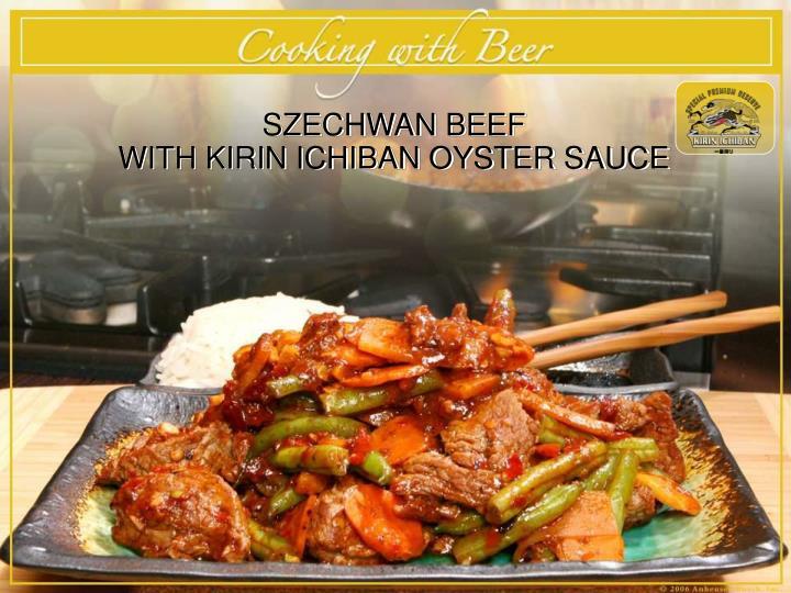SZECHWAN BEEF