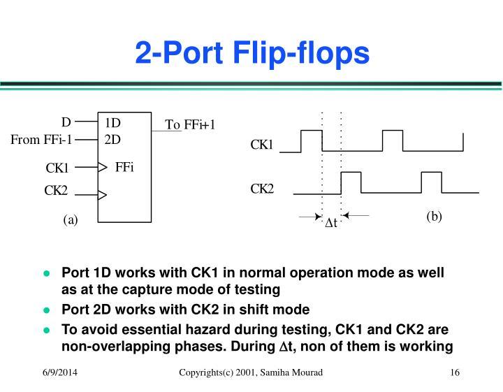 2-Port Flip-flops