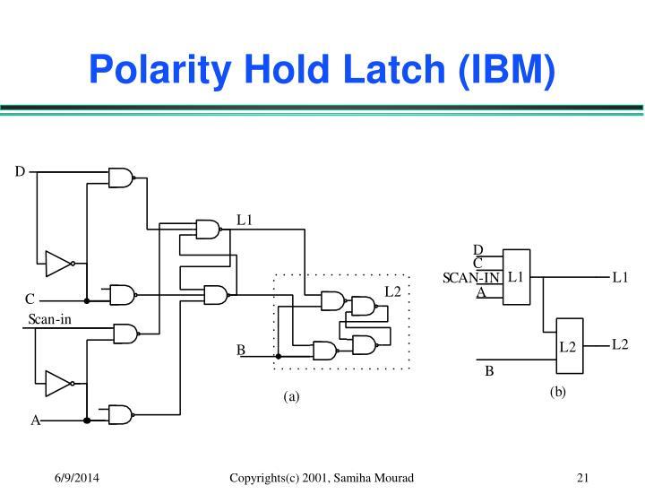 Polarity Hold Latch (IBM)