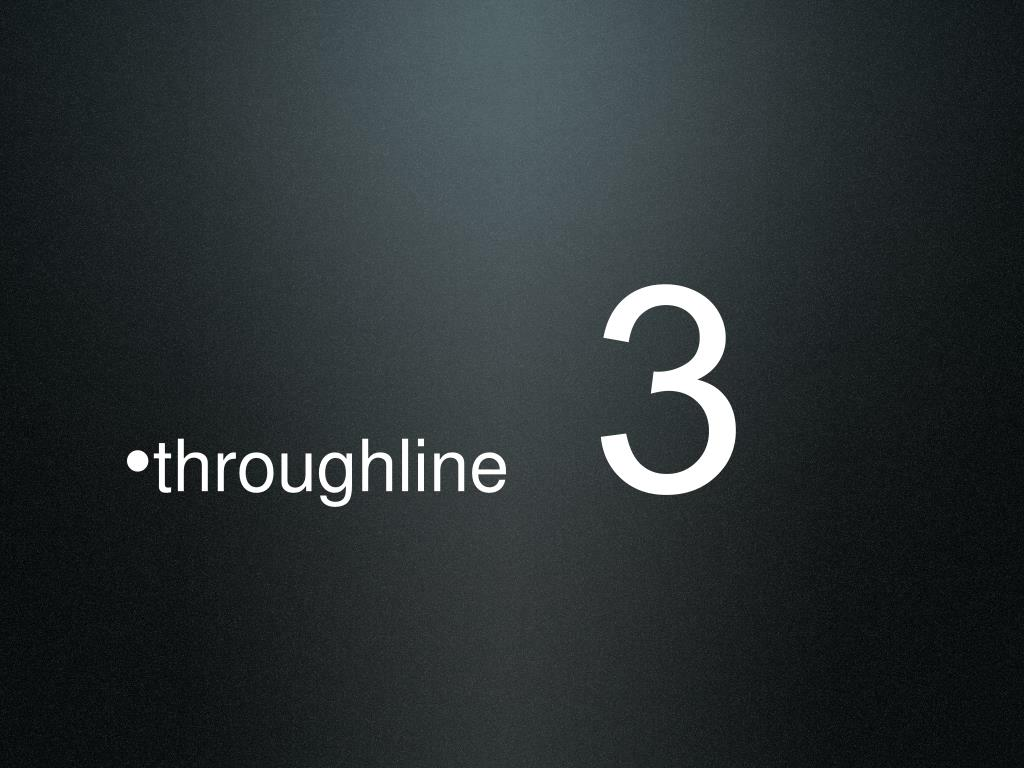 throughline
