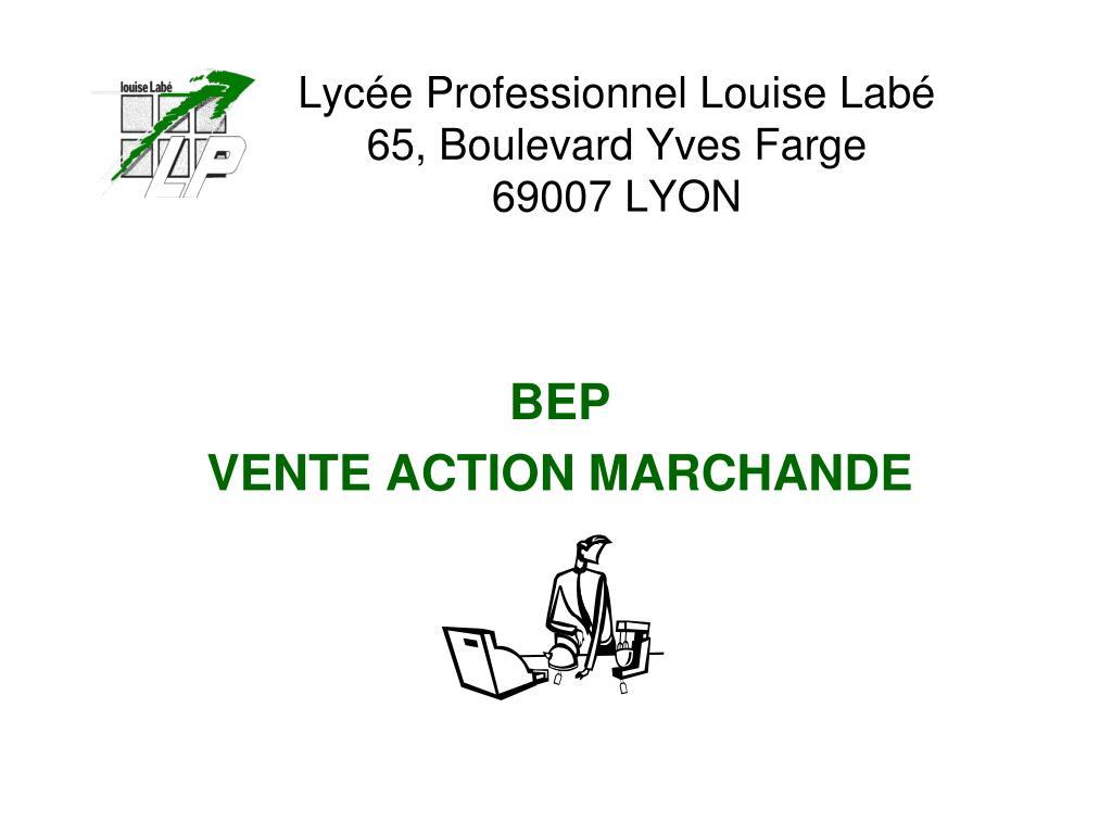 Lycée Professionnel Louise Labé