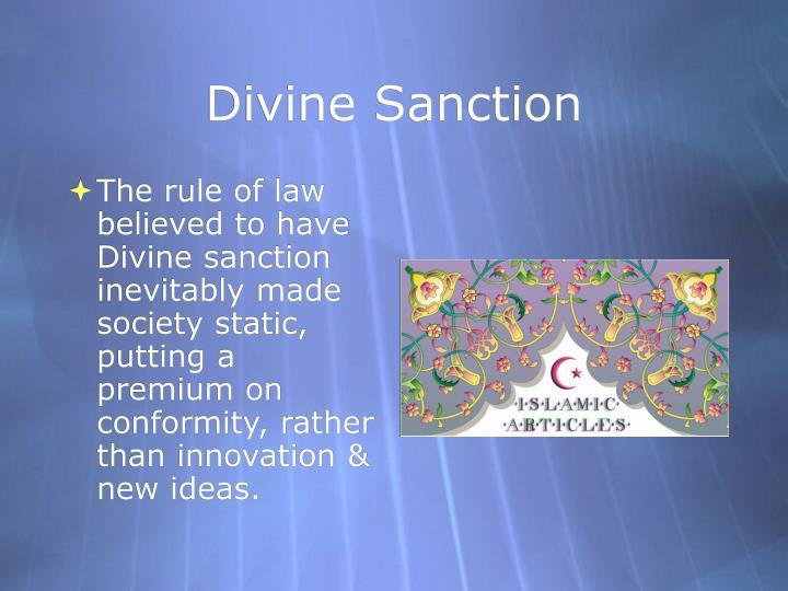 Divine Sanction