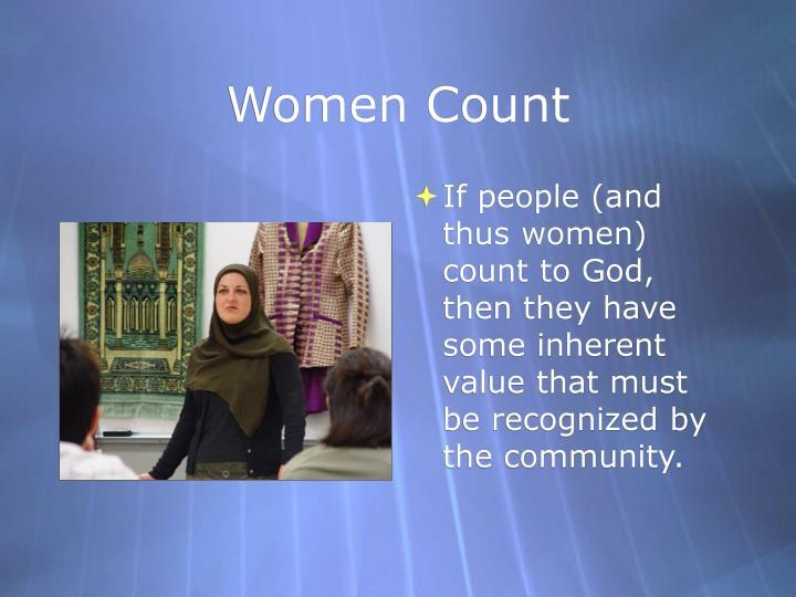 Women Count