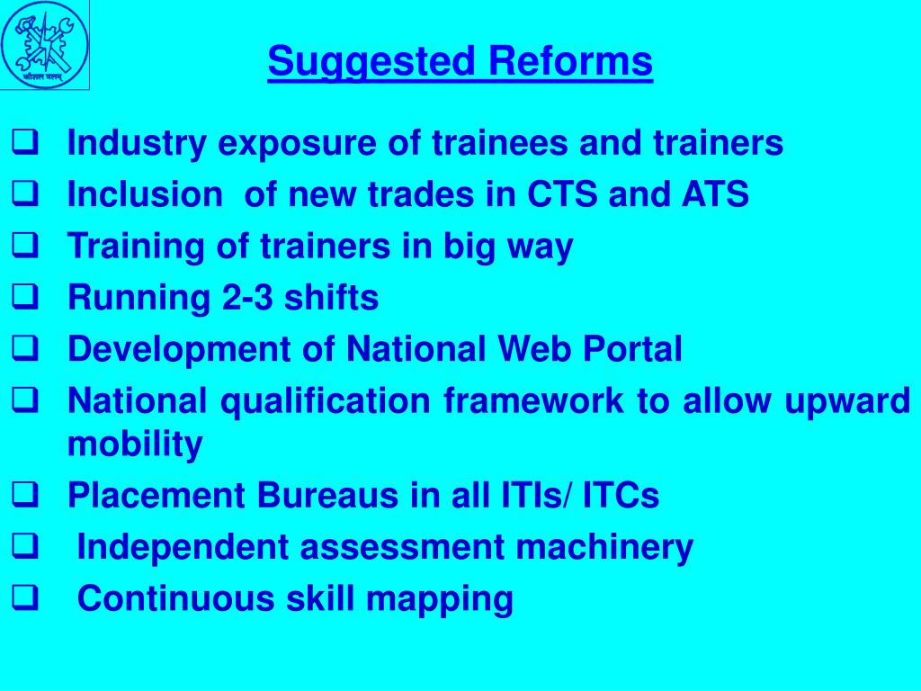 Suggested Reforms