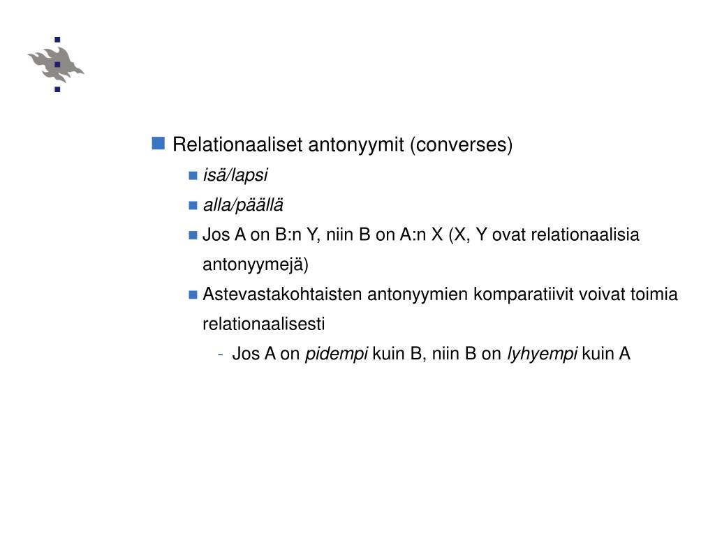 Relationaaliset antonyymit (converses)