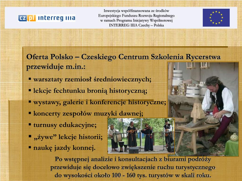 Oferta Polsko – Czeskiego Centrum Szkolenia Rycerstwa