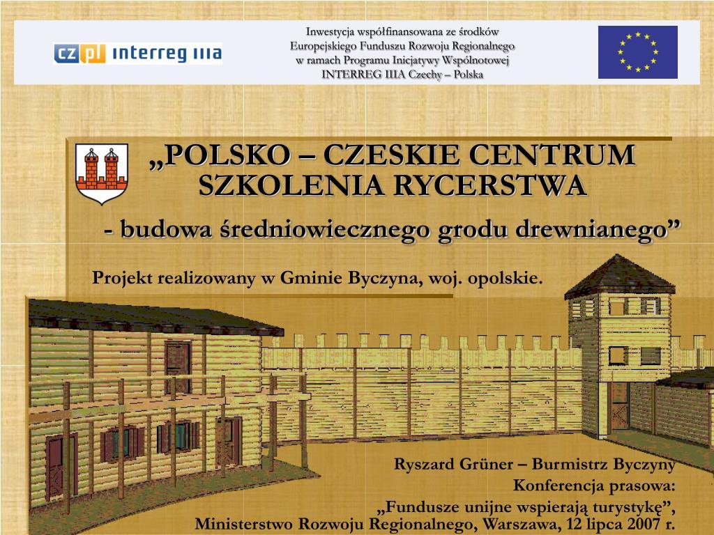 """""""POLSKO – CZESKIE CENTRUM"""