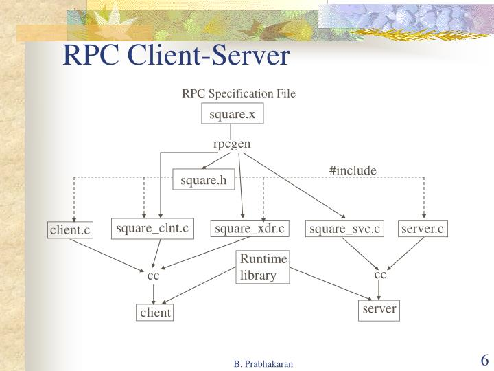RPC Client-Server