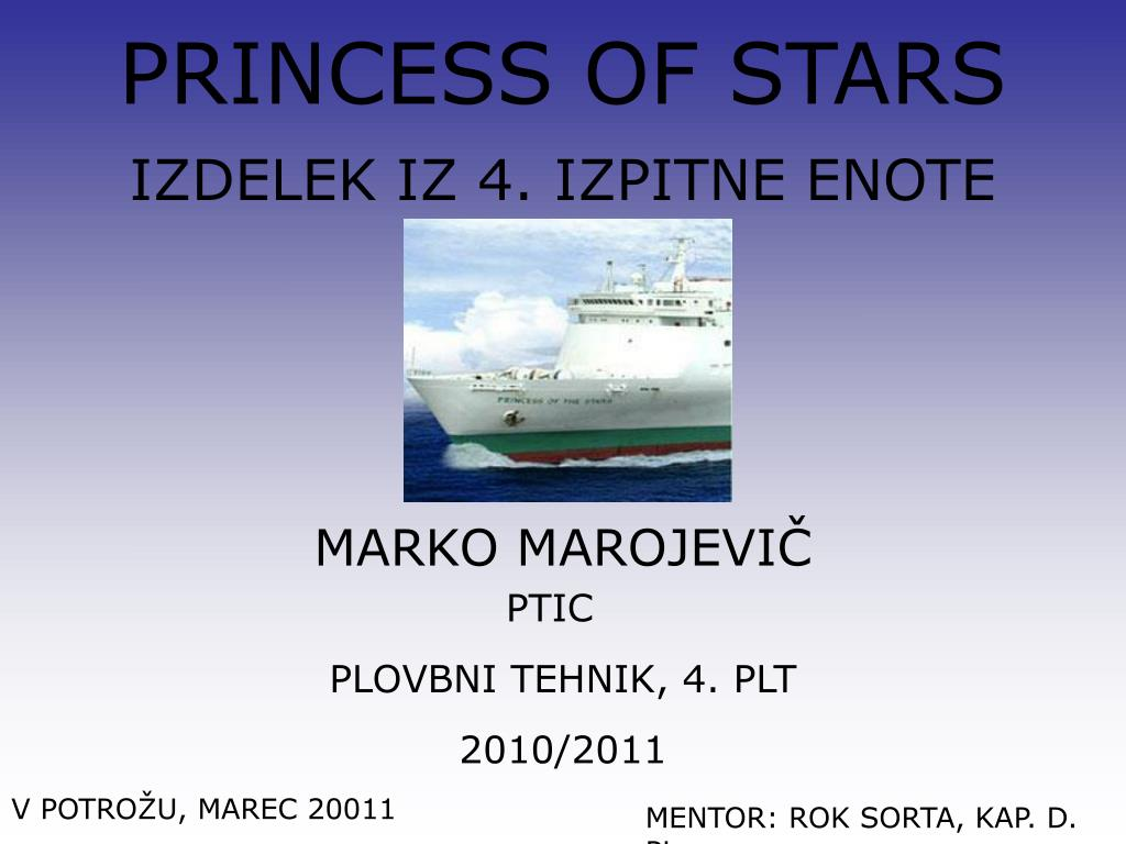 PRINCESS OF STARS