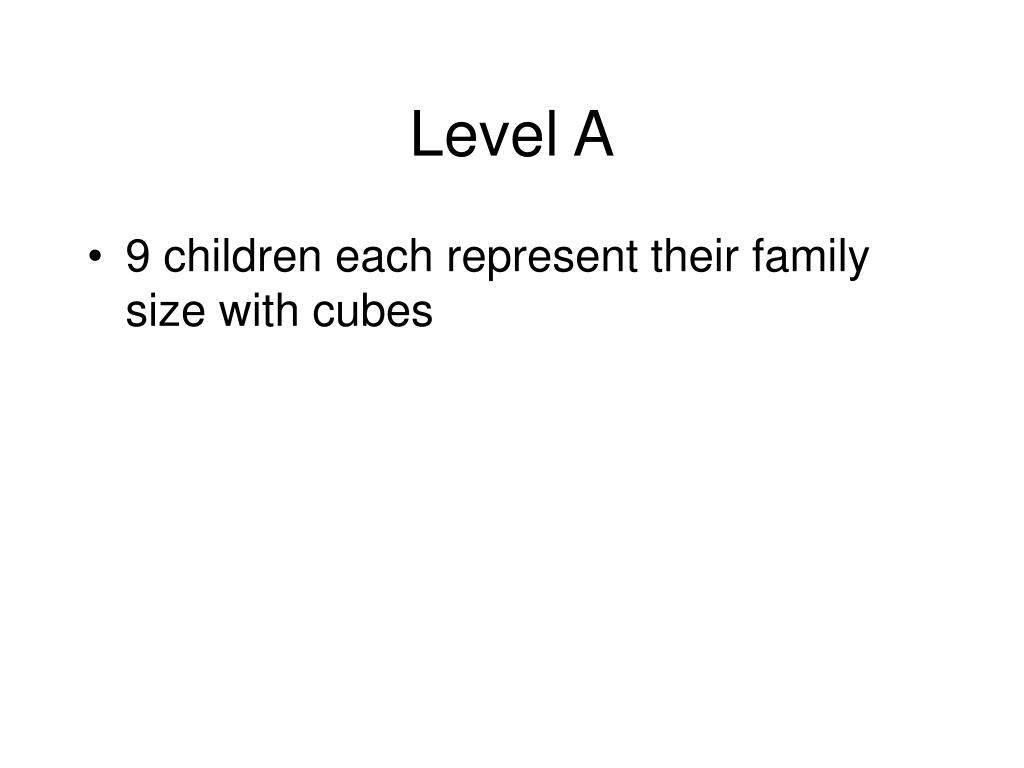 Level A