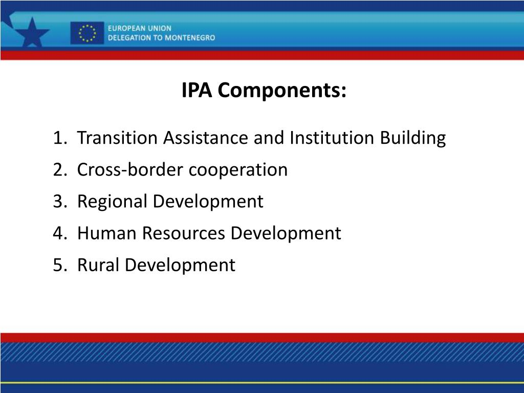 IPA Components: