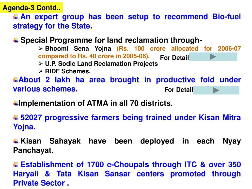 Agenda-3 Contd..