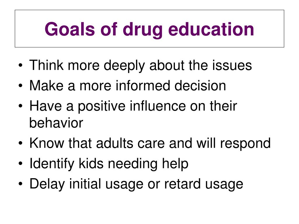 a discussion on drug education and prevention Evidence-based drug prevention to ensure  services required in the school's alcohol and drug abuse prevention education  group discussion,.