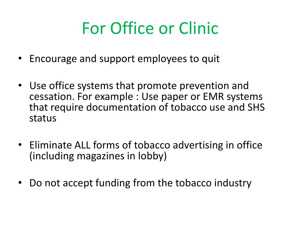 For Office or Clinic