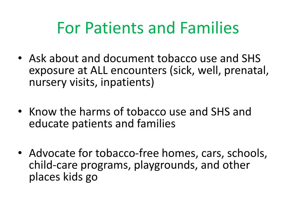 For Patients and Families