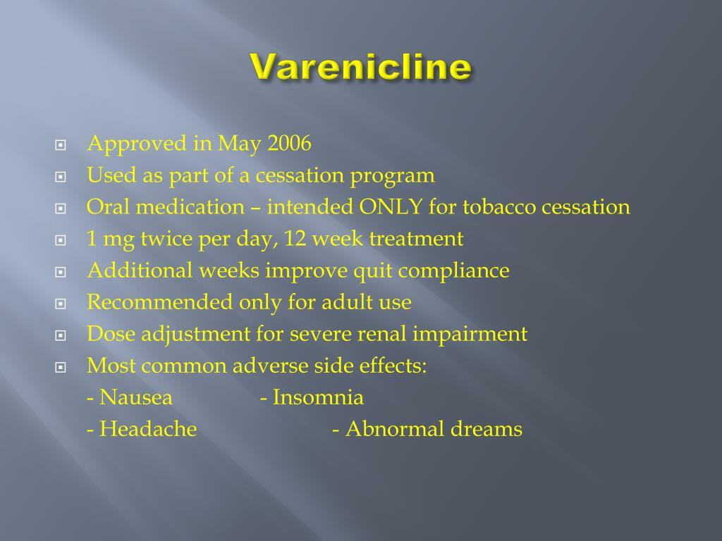 Varenicline