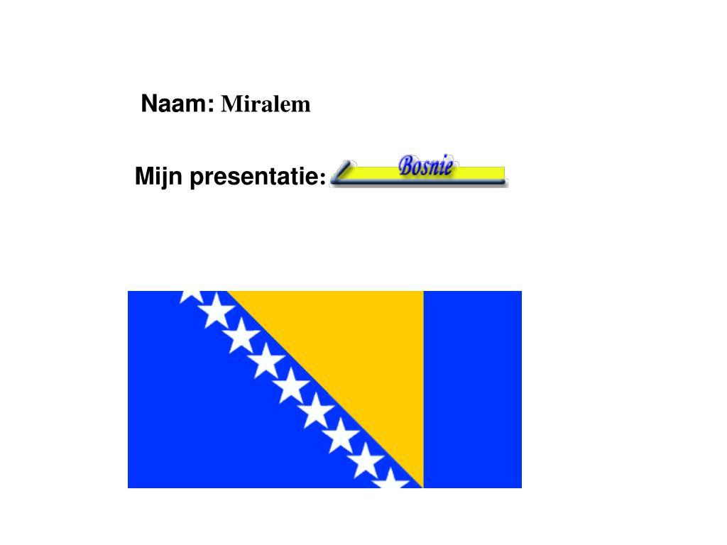 Naam: