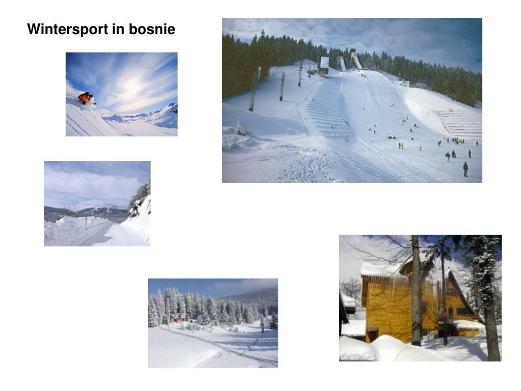 Wintersport in bosnie