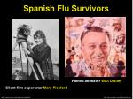 spanish flu survivors