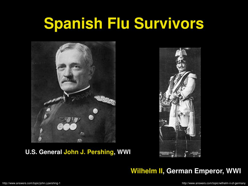 Spanish Flu Survivors