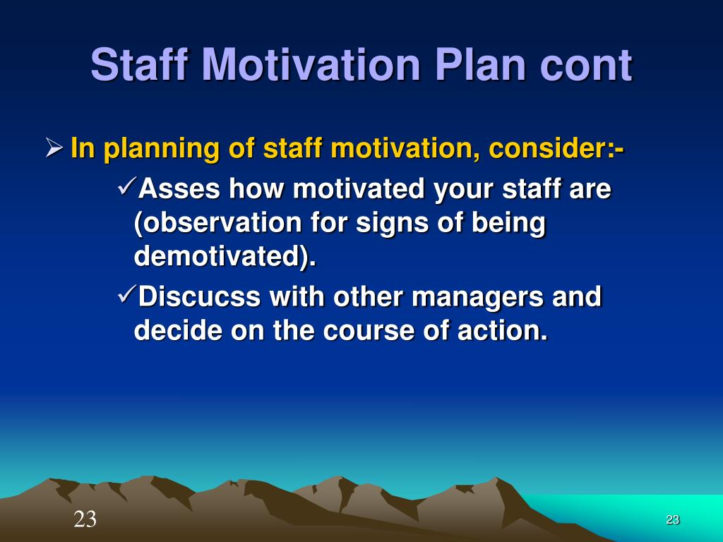 motivation and plan Home topics motivation action plan action plan to achieve breakthrough improvement in employee productivity and leadership effectiveness by james a trinka, phd, chief learning.