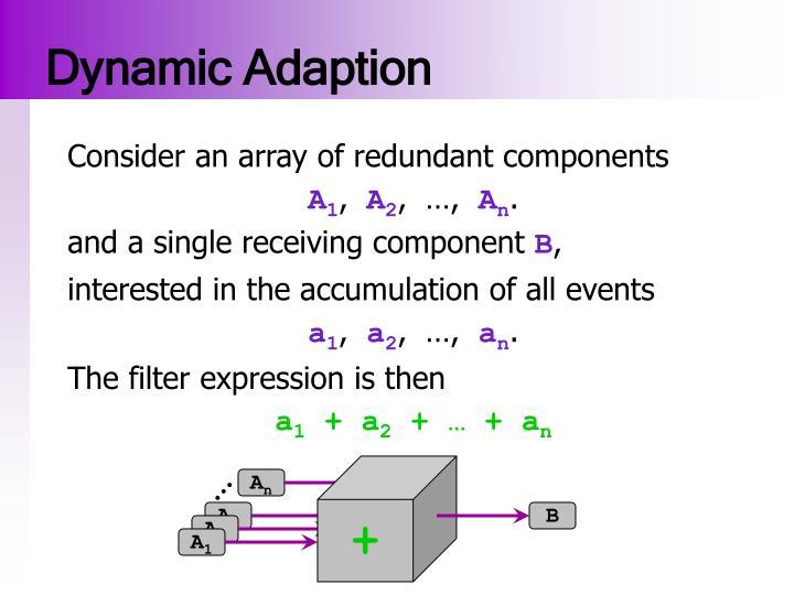 Dynamic Adaption