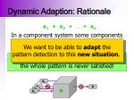 dynamic adaption rationale