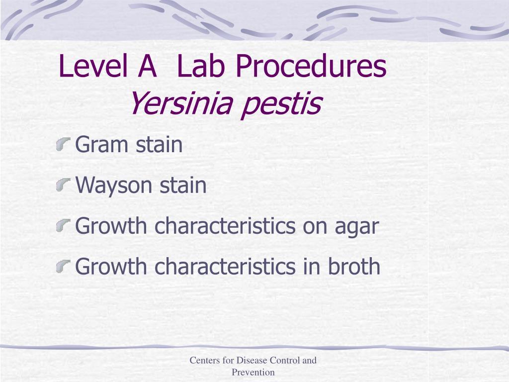 Level A  Lab Procedures