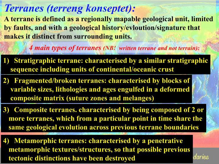Terranes (terreng konseptet):