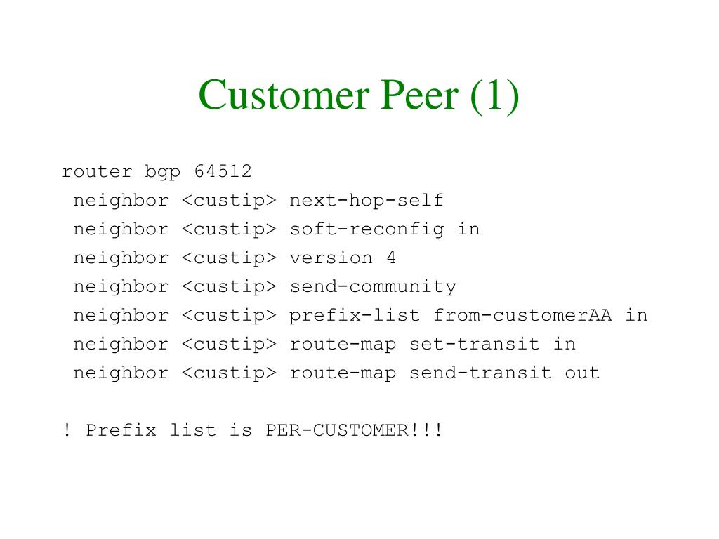 Customer Peer (1)