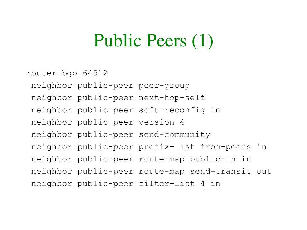 Public Peers (1)