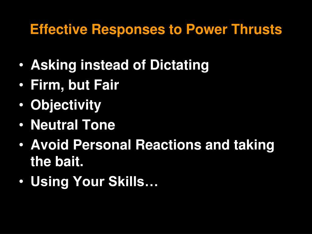 Effective Power