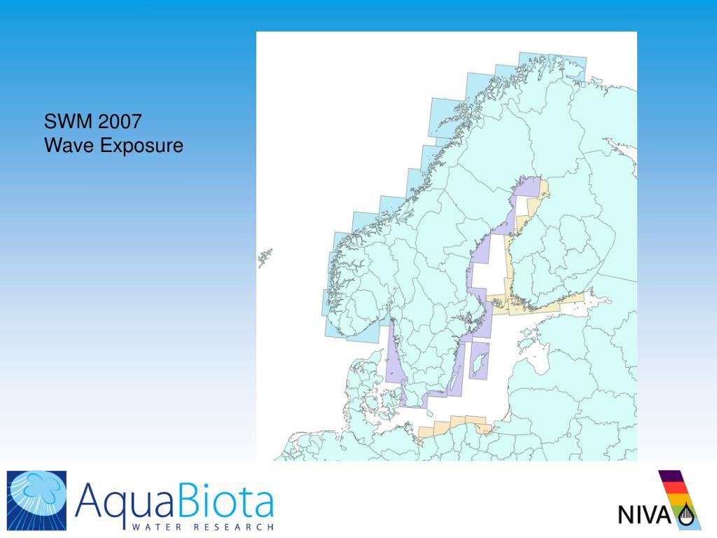 SWM 2007 Wave Exposure