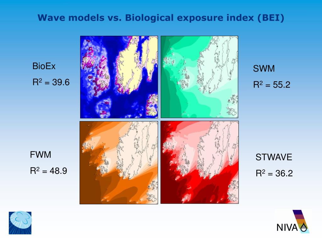 Wave models vs. Biological exposure index (BEI)