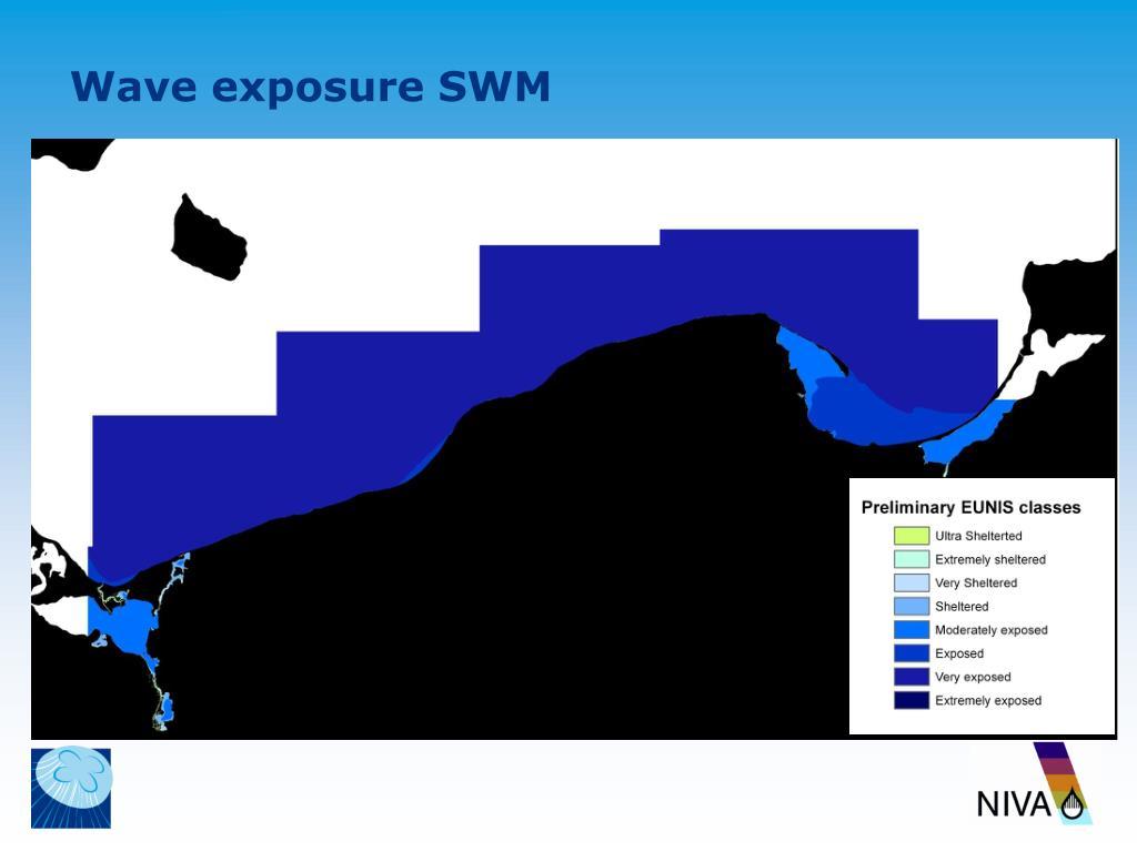 Wave exposure SWM