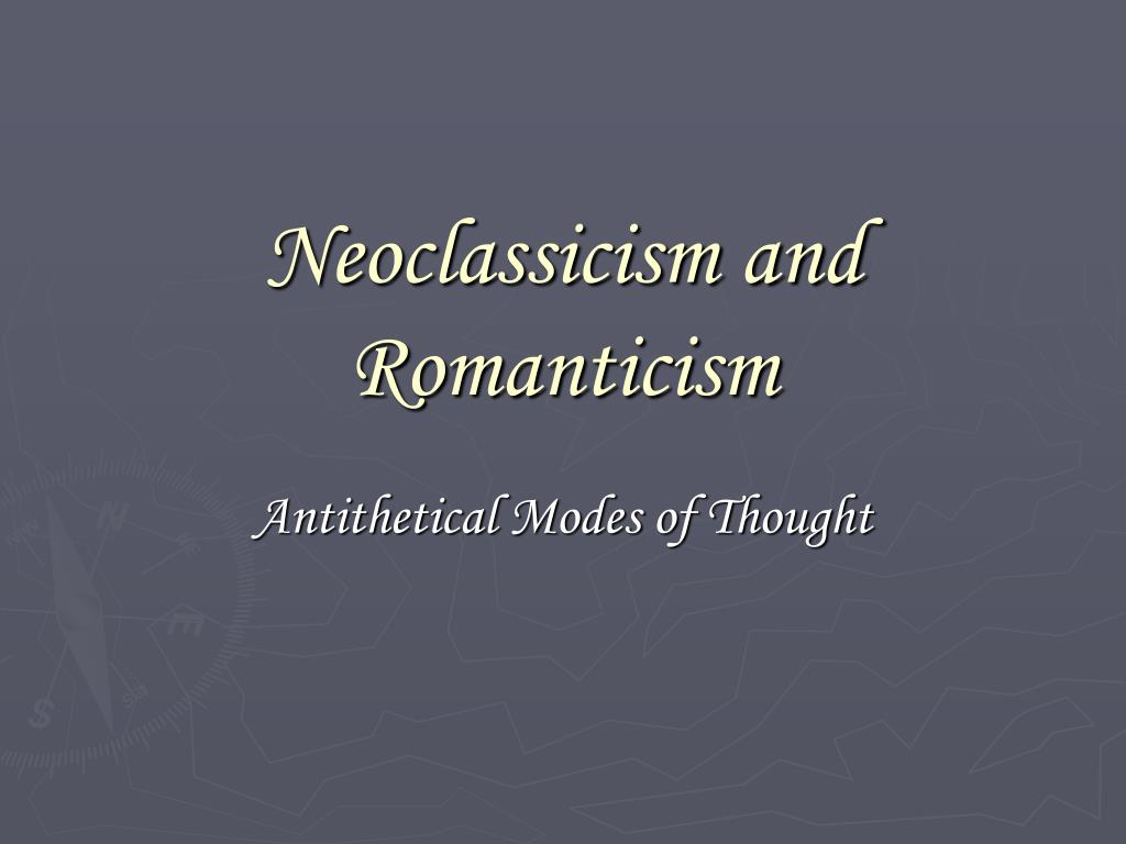 romanticism and neoclassical